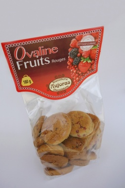 Ovalines Ovalines Fruits rouges - 180 gr